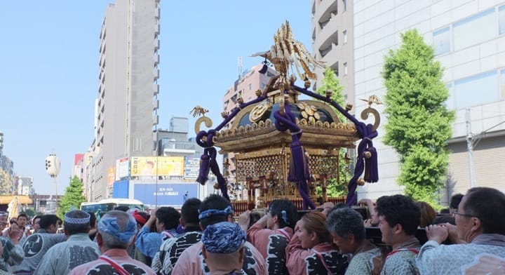 Japanese Encyclopedia: Mikoshi (