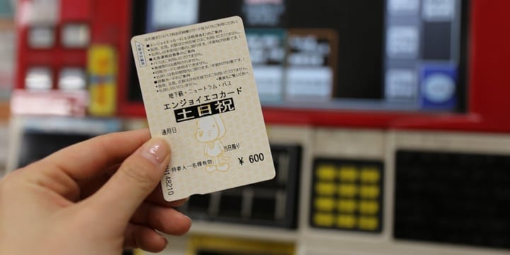 Travel Cheaply In Osaka With Enjoy Eco Card 1-Day Pass
