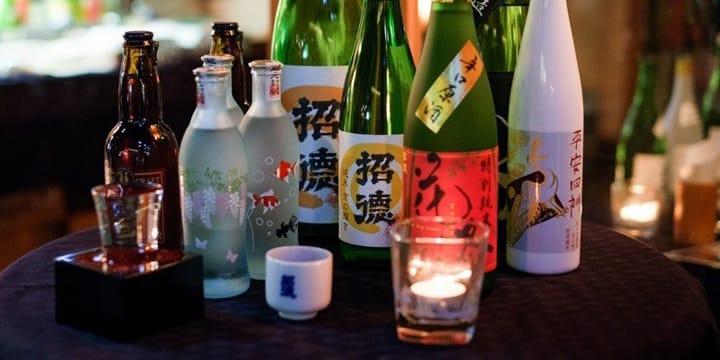 "Mencicipi Sake Jepang di ""Brewer Jo - Social Sake Bar"", Kyoto, Ponto-cho"