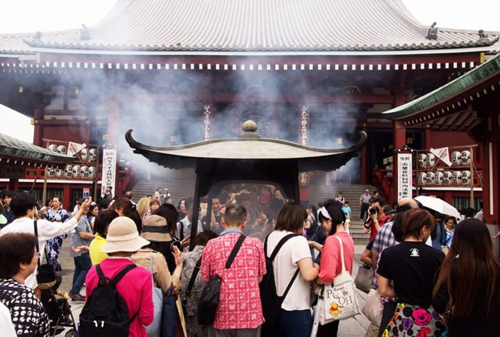 The Mysterious Smoke at Sensoji