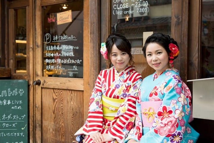 Wander Through Kyoto In A Kimono! Yumeyakata: A Kimono Rental Store