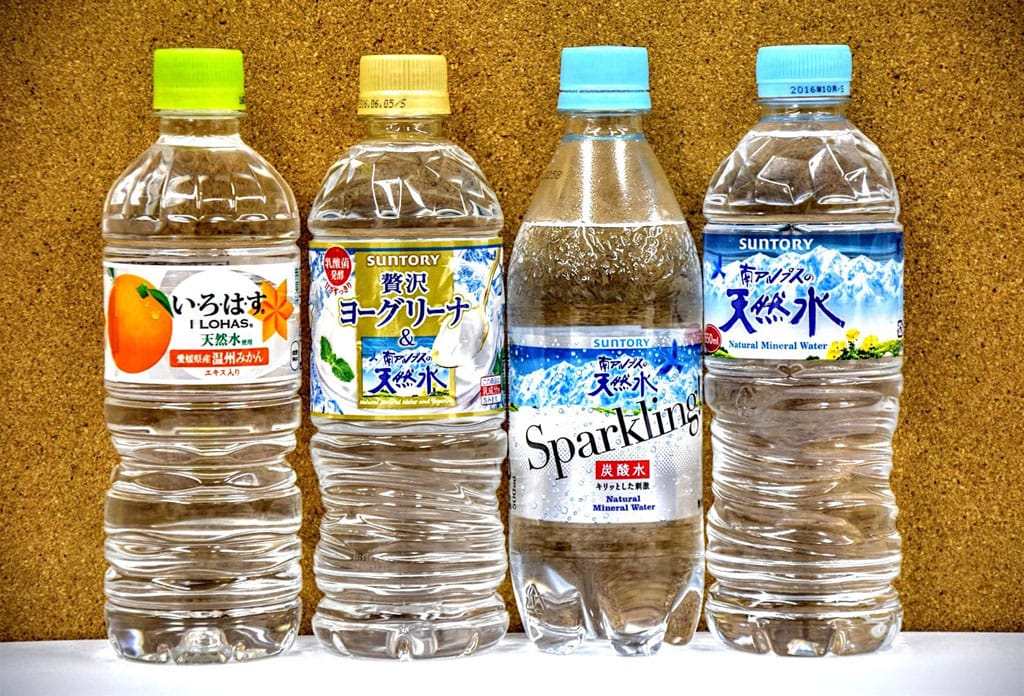 Things to note when drinking mineral water in japan for Water in japanese