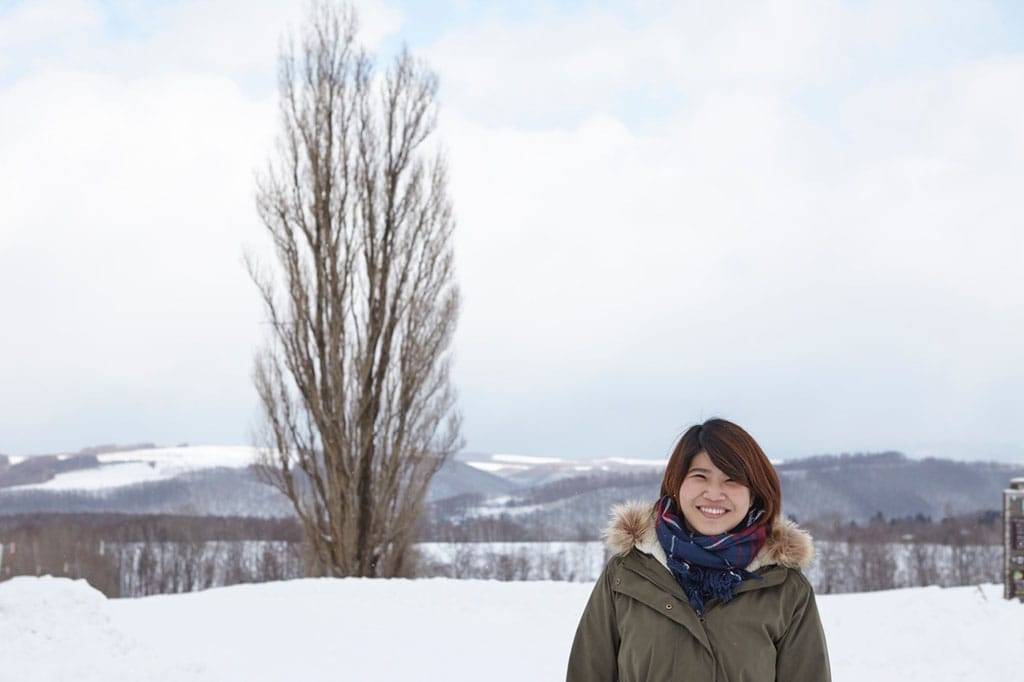 Hokkaido S Winter Attractions A Trip To Biei With A Thai