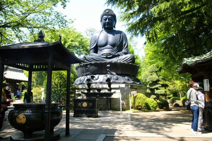 There Is A Great Buddha Statue in Tokyo!? Yes! At Jorenji Temple