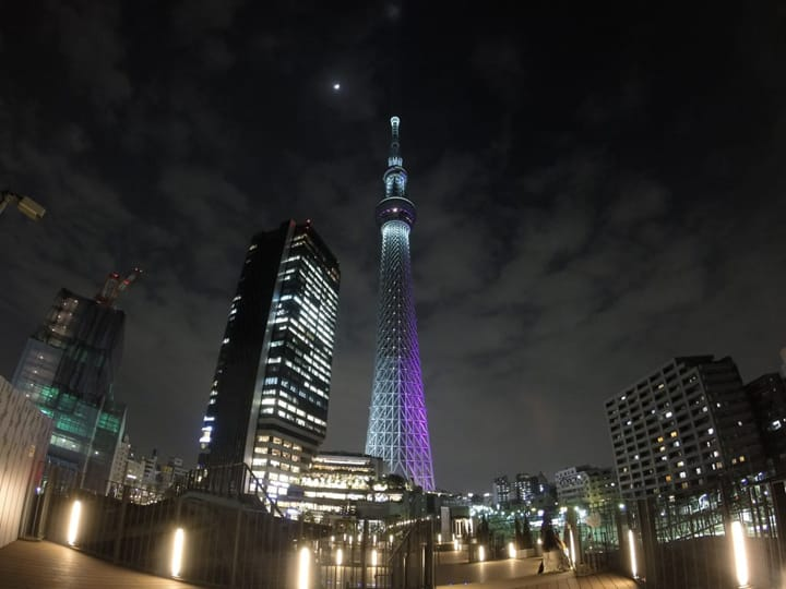 Walk Above The Clouds at Tokyo SKYTREE® in Oshiage ...