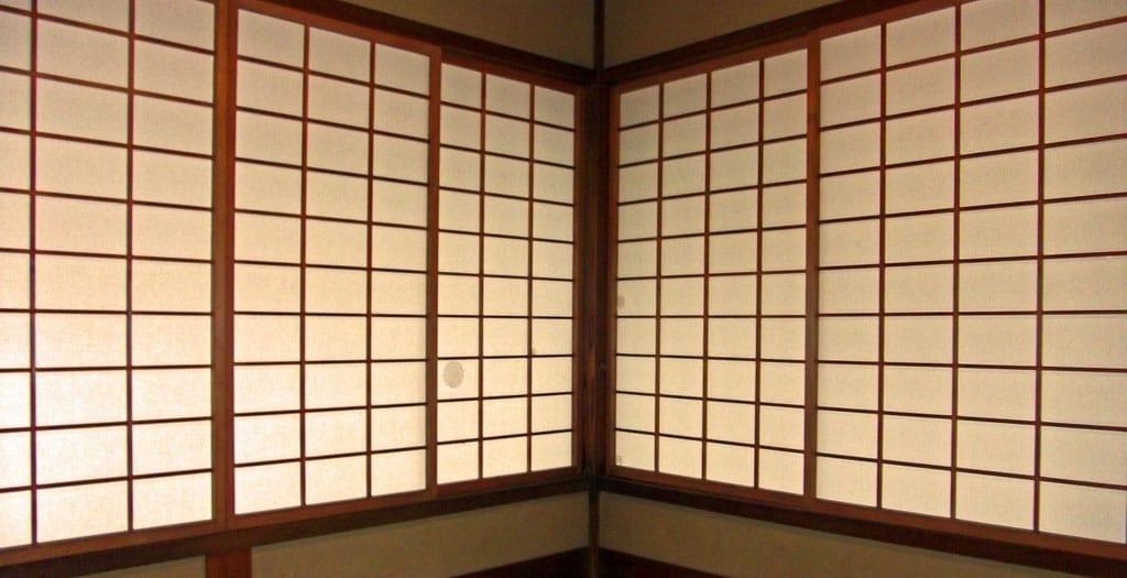 Japanese Encyclopedia Shōji Sliding Doors Matcha