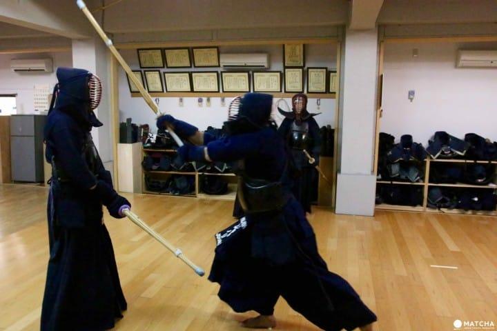 Try Traditional Martial Arts Samurai Trip Kendo Classroom Matcha Japan Travel Web Magazine