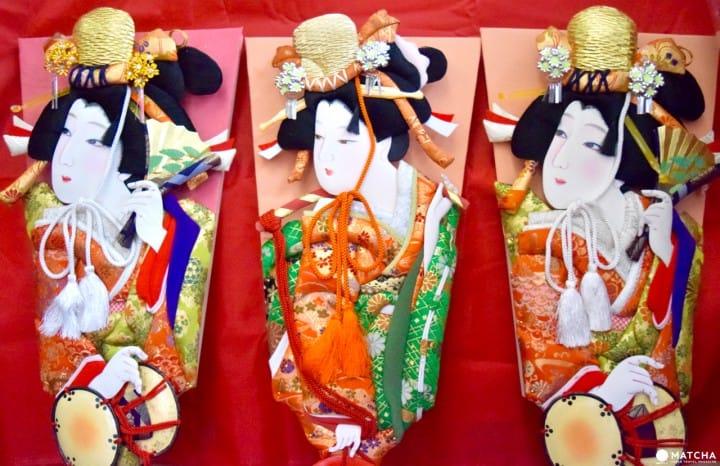 埼玉県 押し絵羽子板&岩槻人形