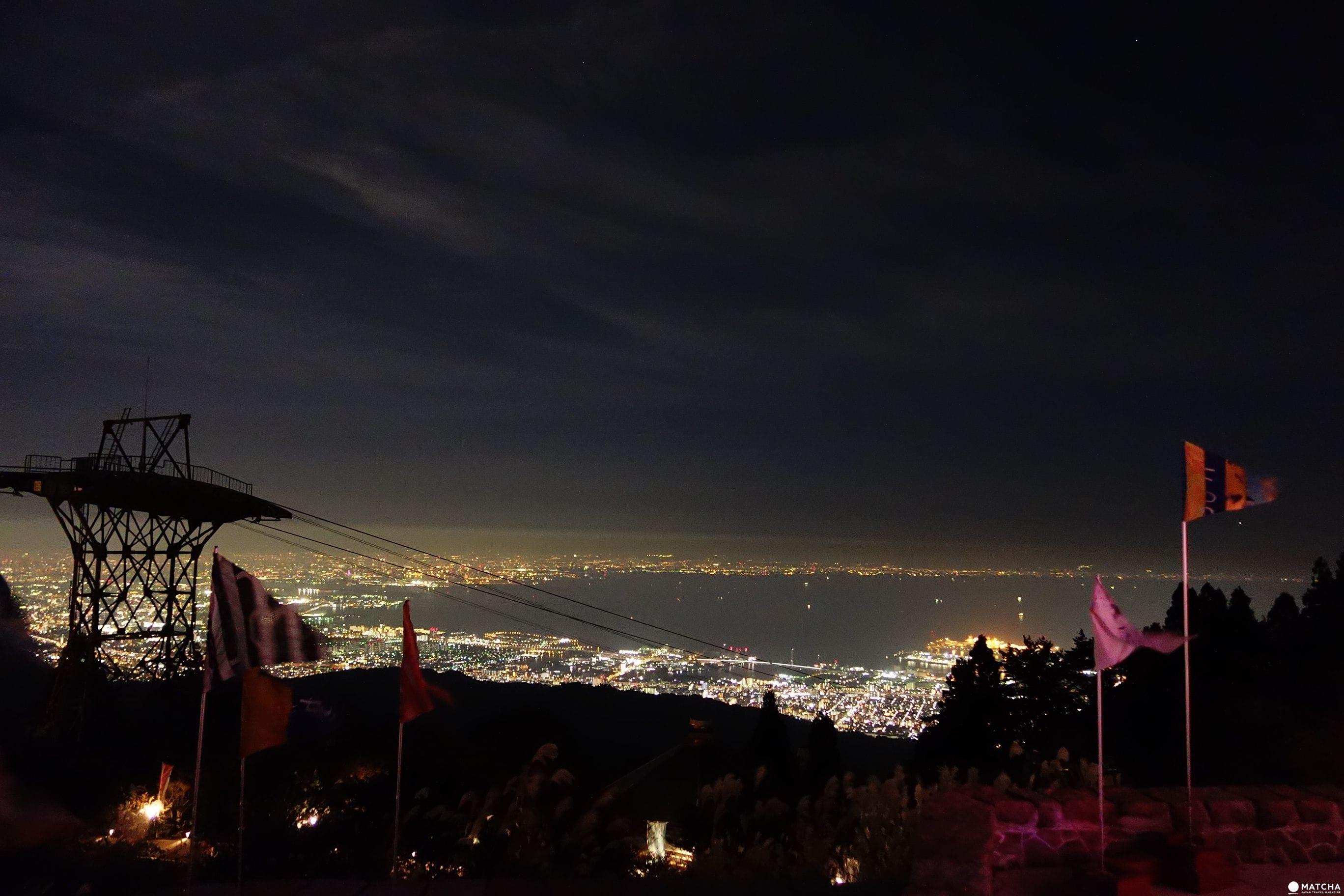 【兵庫縣神戶夜景】六甲枝垂自然展望台 - 閃亮限定光之藝術