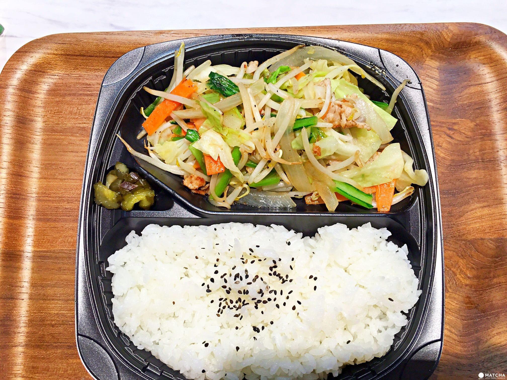 日本上班族都吃這個啦!24小時現做自助家常菜便當店