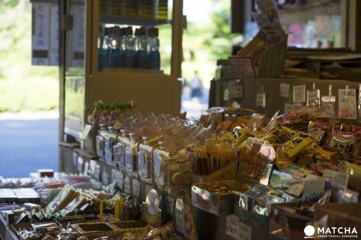 일본여행 토막상식 「다가시(駄菓子)」