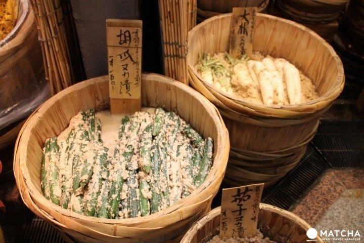 일본여행 토막상식 「츠케모노(漬物)」