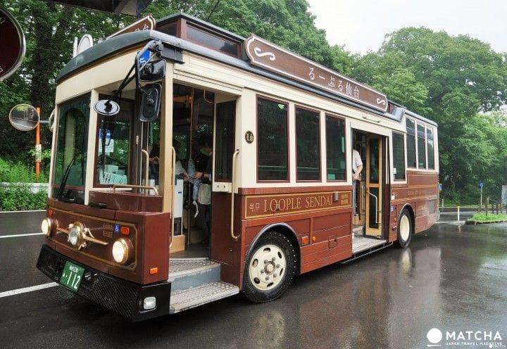 【仙台】可以玩什么?来搭るーぷる(LOOPLE)仙台观光巴士吧!