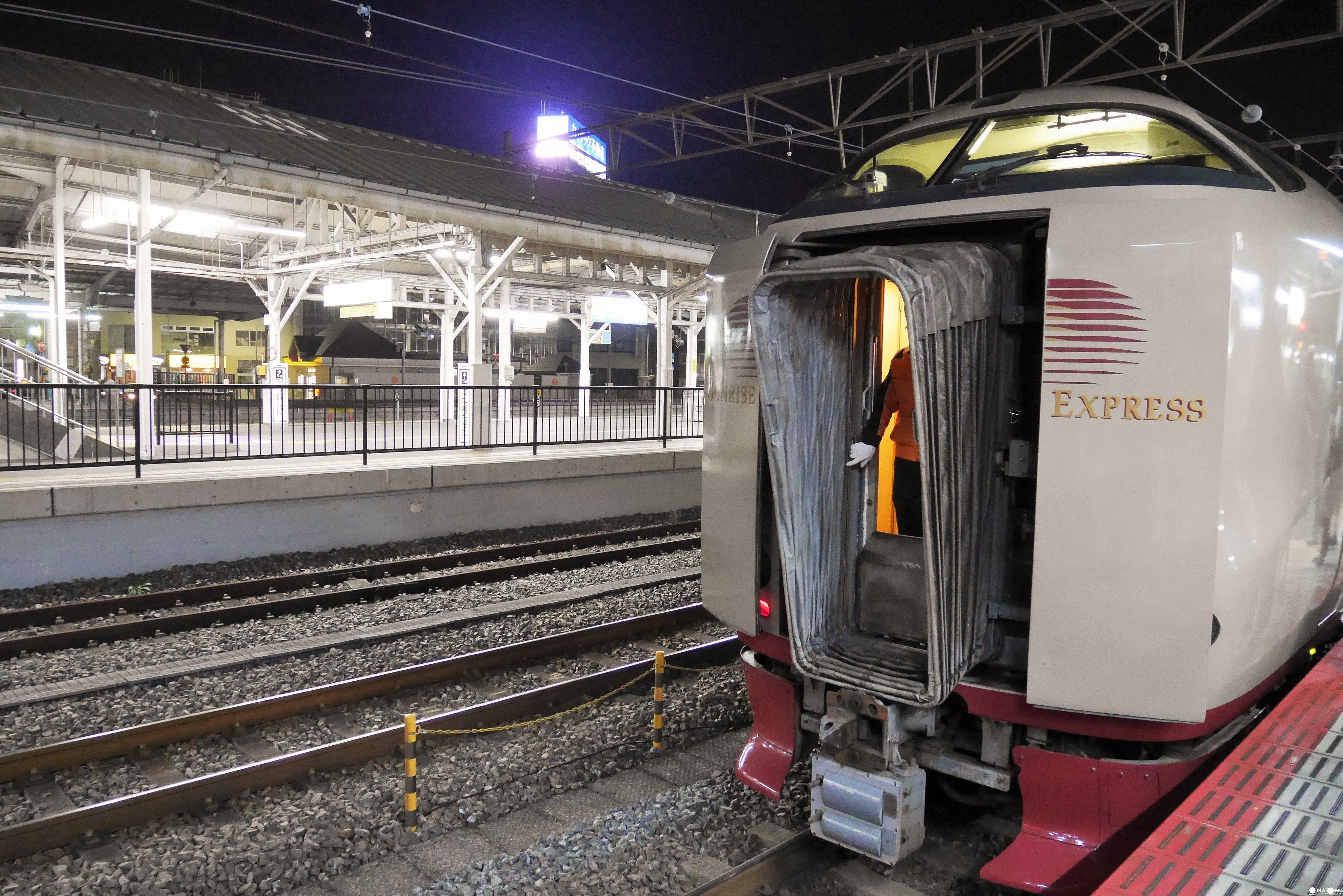 到四國的新選擇:サンライズ寢台列車
