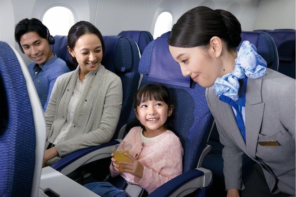 安心、安全、舒適的五星級航空「ANA」全日空介紹