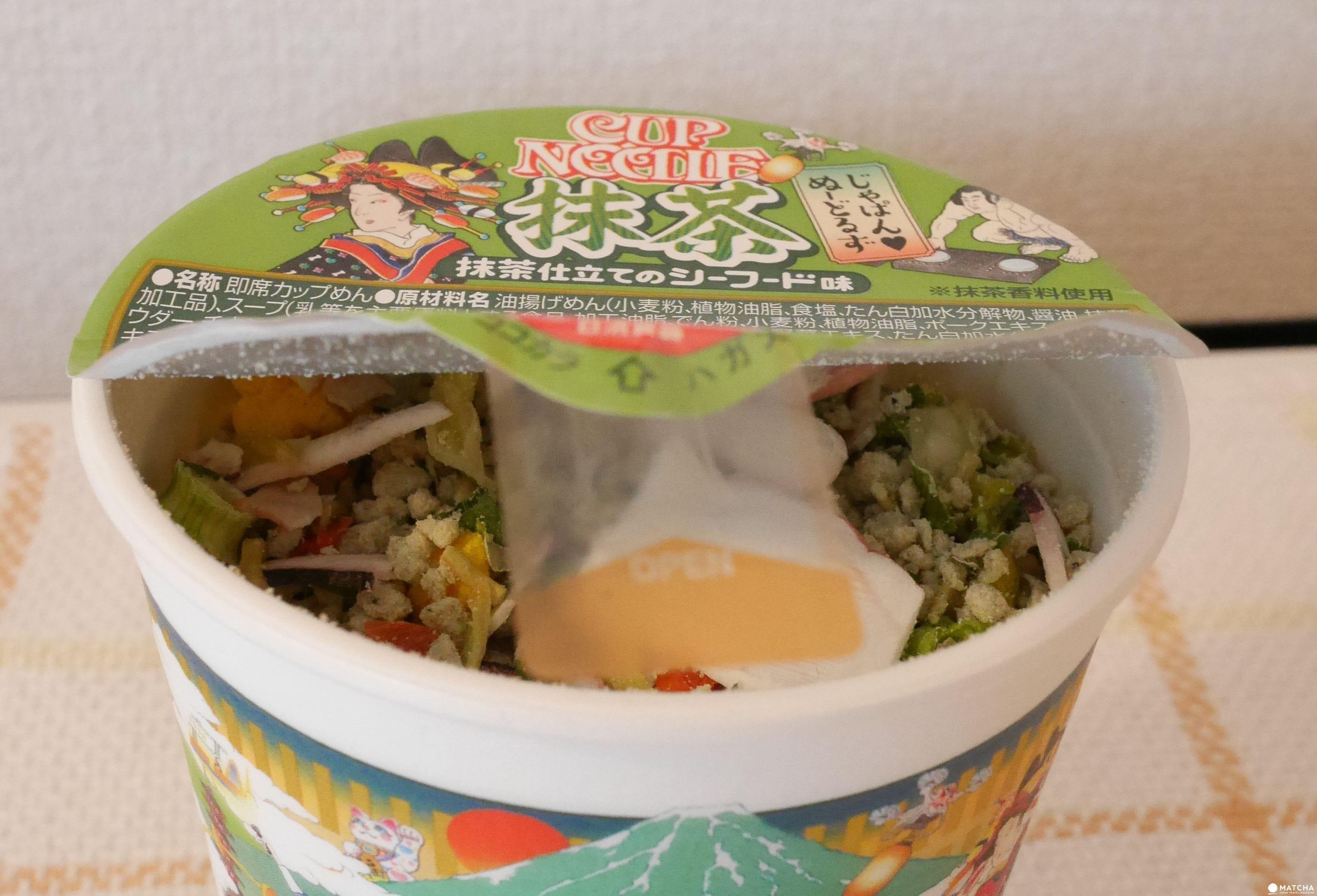 什麼都有什麼都不奇怪,日本新奇泡麵大集合!