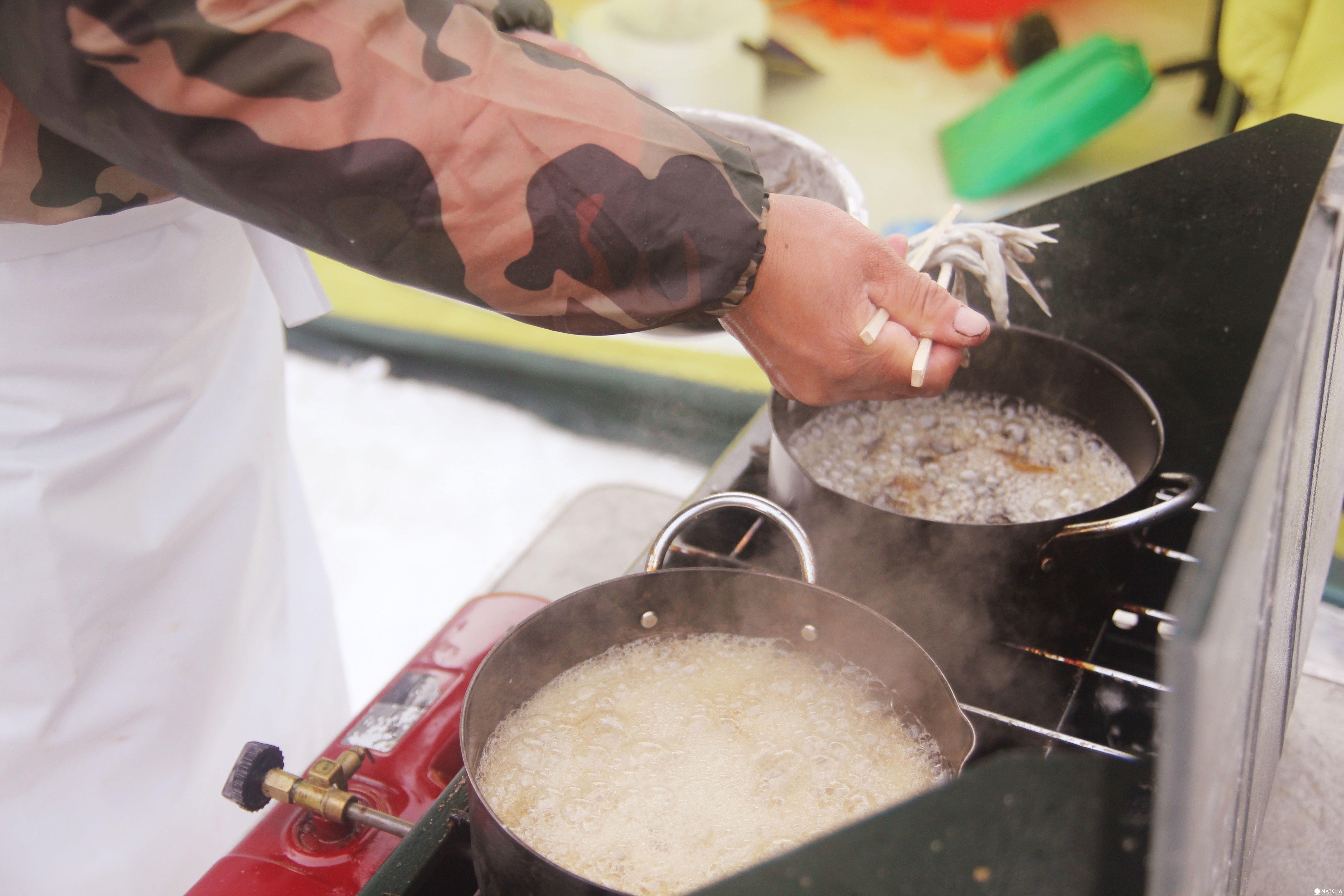 「北海道 石狩」體驗北海道在地人的冬季消遣娛樂:冰上釣魚!釣多少、吃多少唷~
