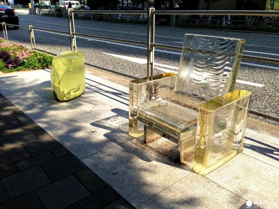 六本木, 公共藝術, 吉岡德仁