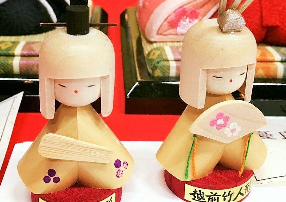 給女孩的浪漫祝福!「粉彩春天越前大野的雛祭」女兒節娃娃展