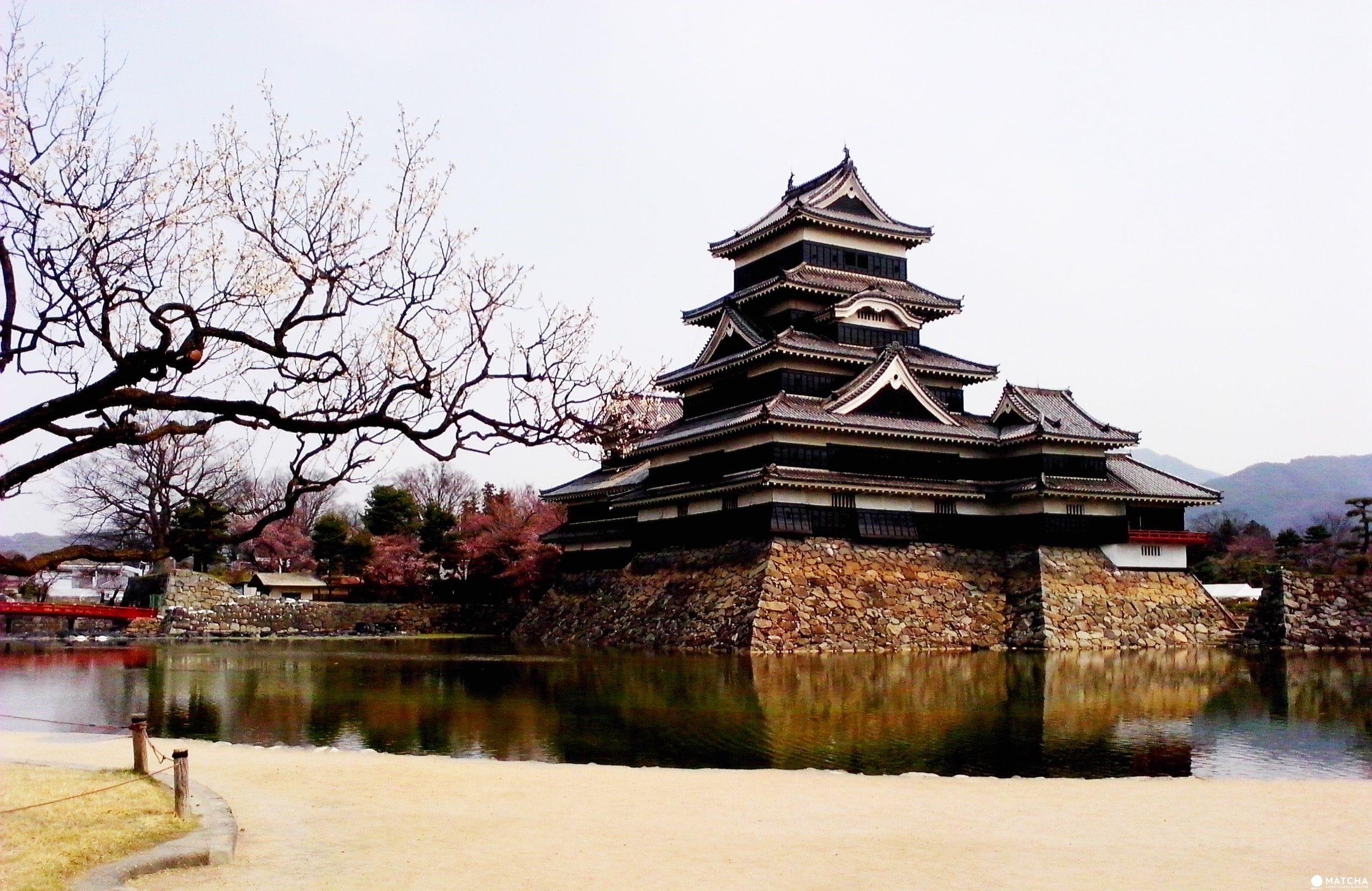【長野】國寶松本城賞櫻漫步城下町