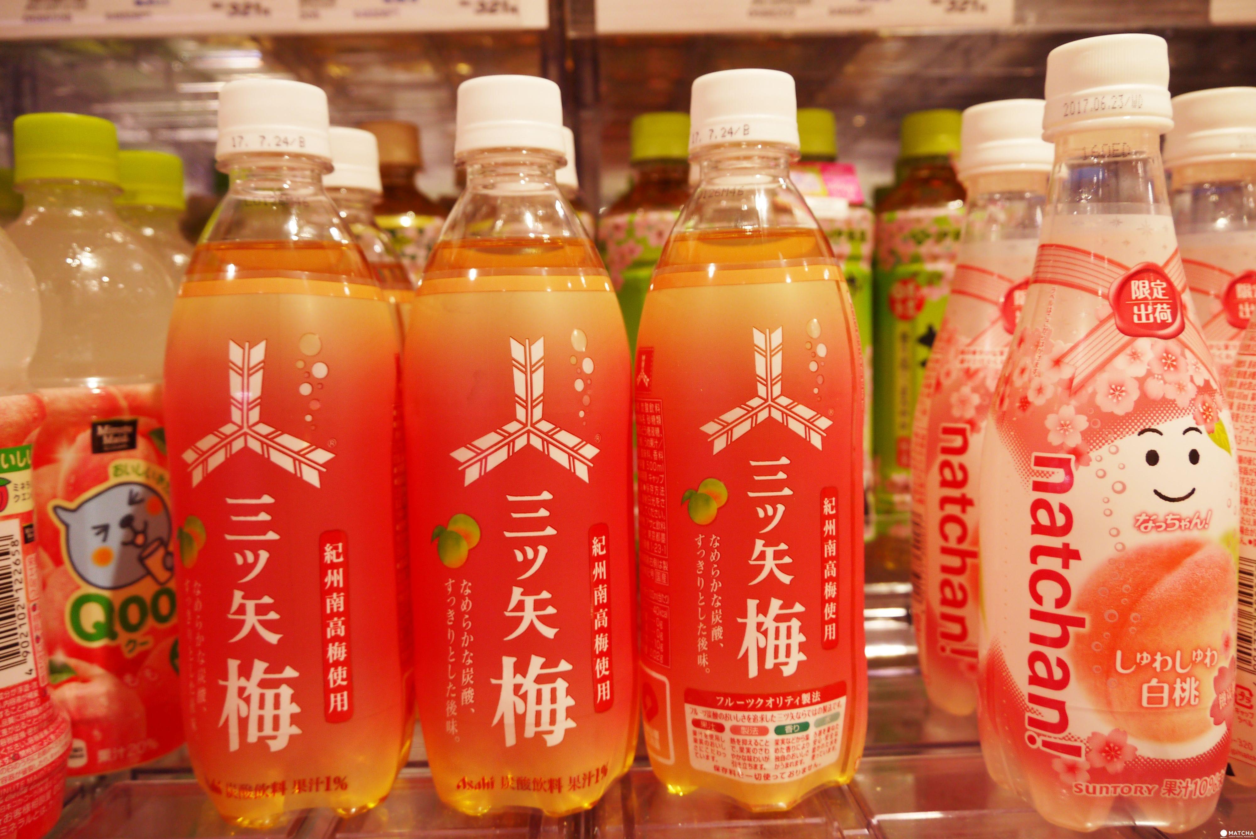 日本超市裡春色粉嫩的桃梅限定商品