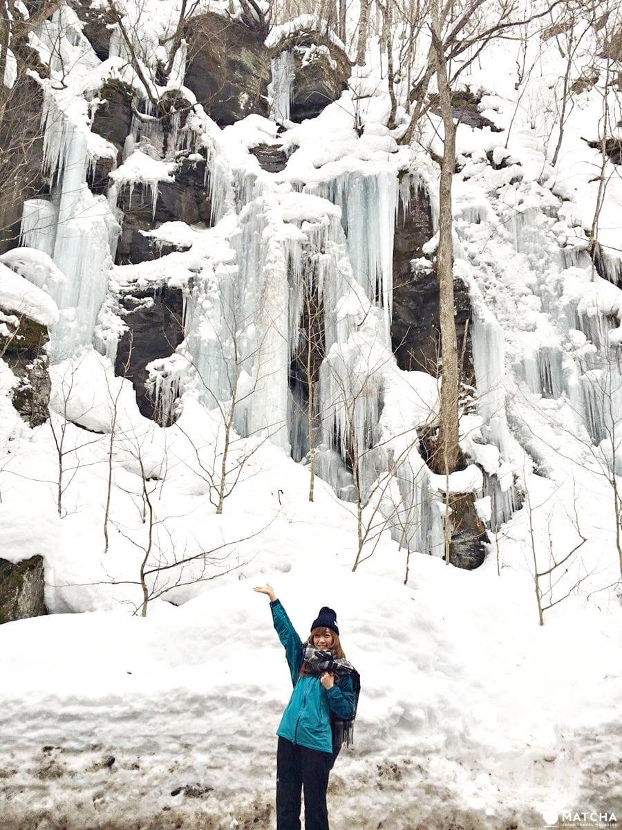 奧入瀨溪流冰瀑