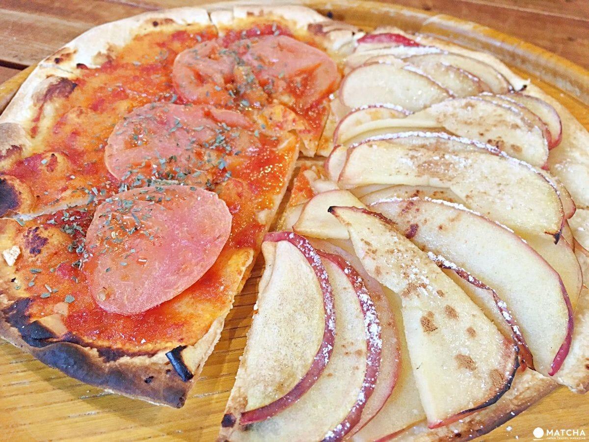 青森十和田蘋果披薩