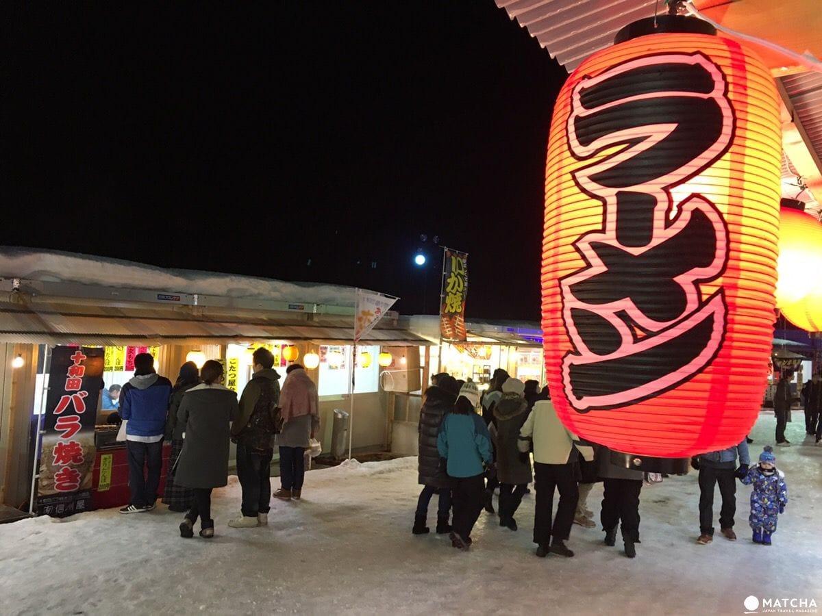 十和田湖冬季物語屋台