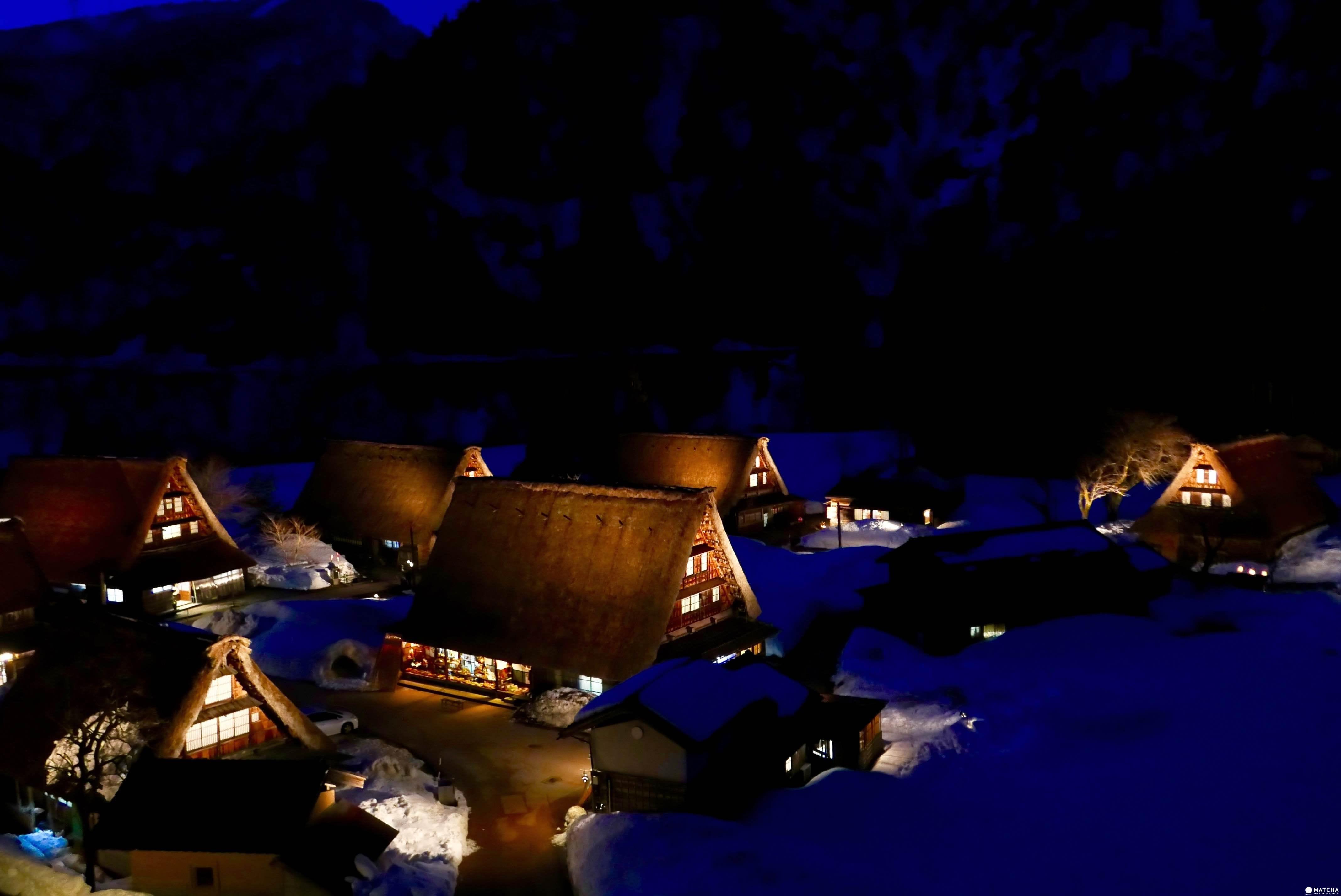 『富山縣 南砺市』被世界遺忘的美景角落:四季更迭點燈美景