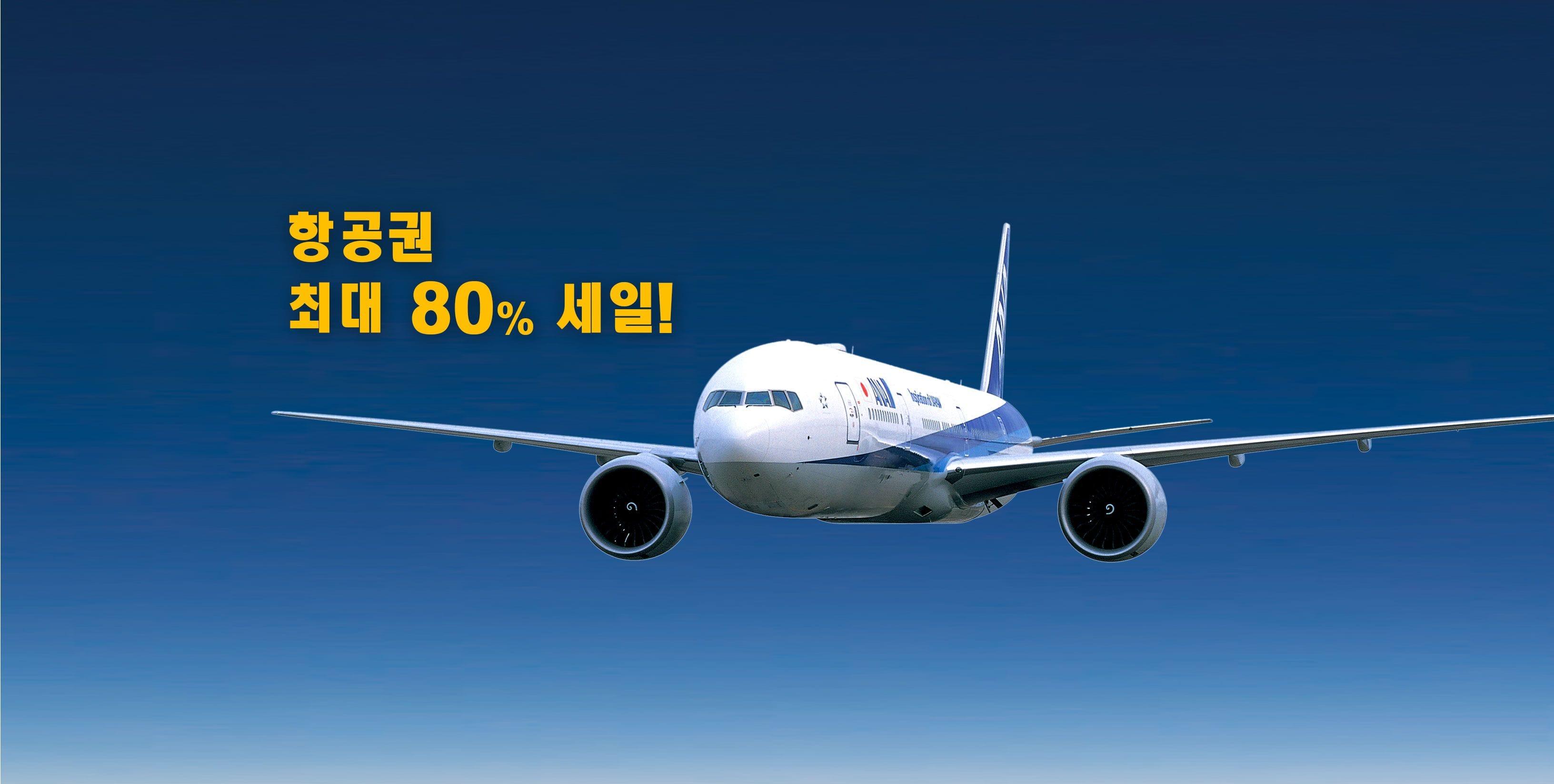 항공권 최대 80% 할인! 일본에서 국내선을 탄다면 ANA의 가쿠야스(格安)티켓이 이득이다!