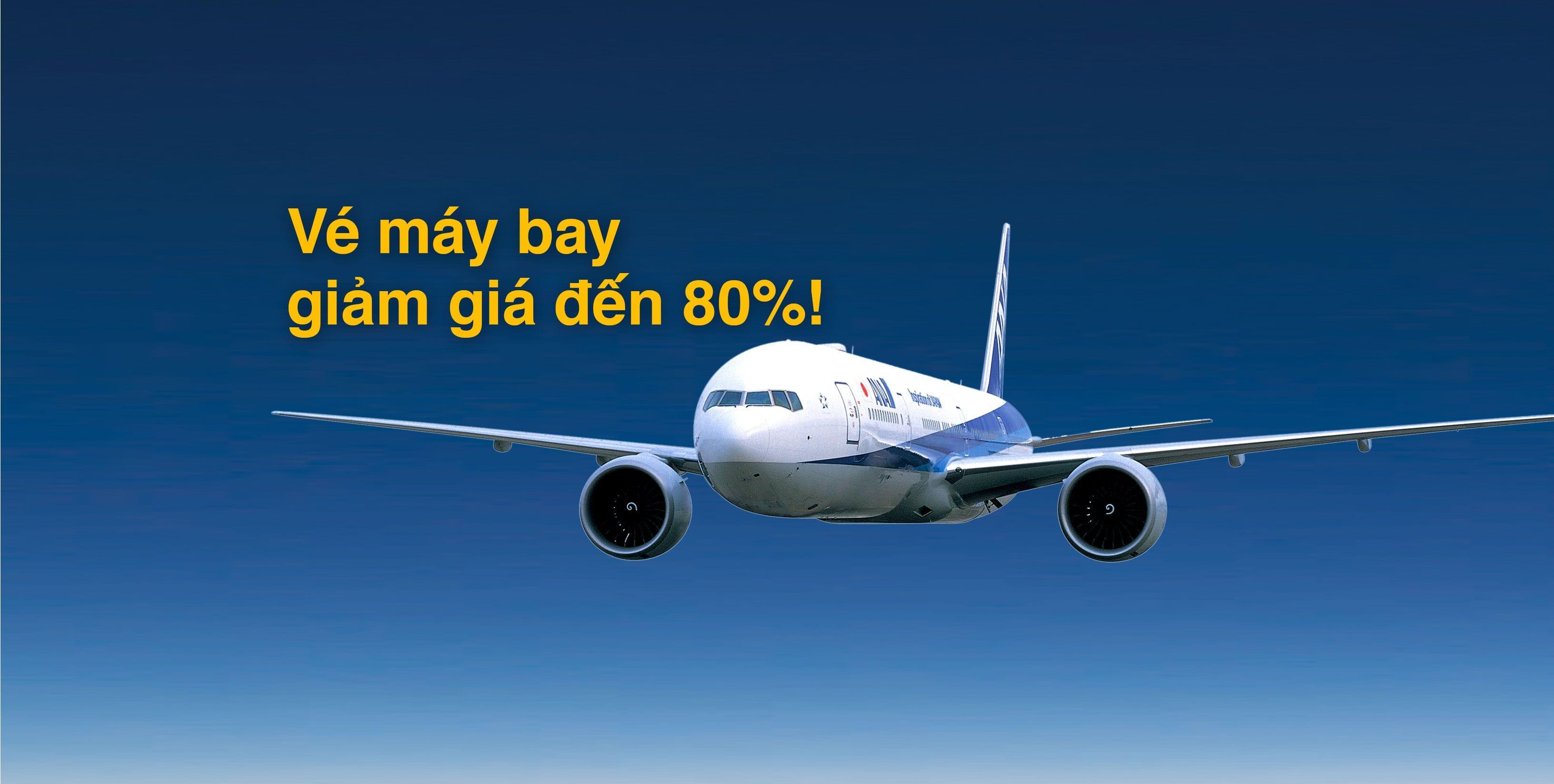 Vé máy bay giảm giá đến 80%! Vé máy bay giá rẻ của ANA cho các tuyến bay nội địa tại Nhật Bản