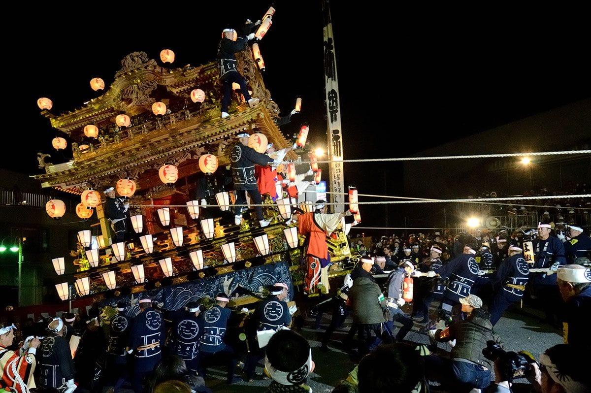 ユネスコ無形文化遺産の秩父夜祭の概要・アクセス・持ち物など