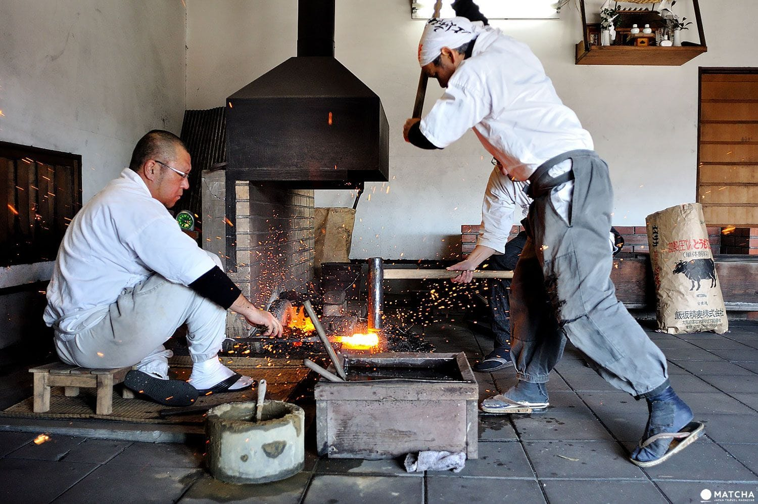 Witness The Making Of A Sword The Bizen Osafune Japanese