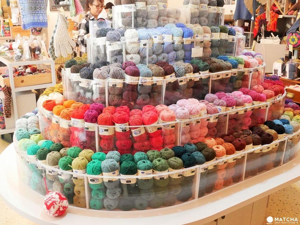 【手作材料特集】在線與線世界,密密編織自己的夢,東京「線」的專門店2選