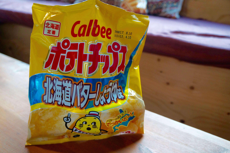 calbee奶油醬油
