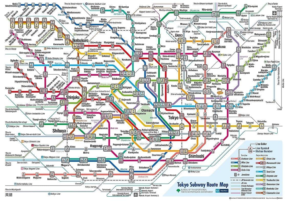 Tokyo rail map english pdf