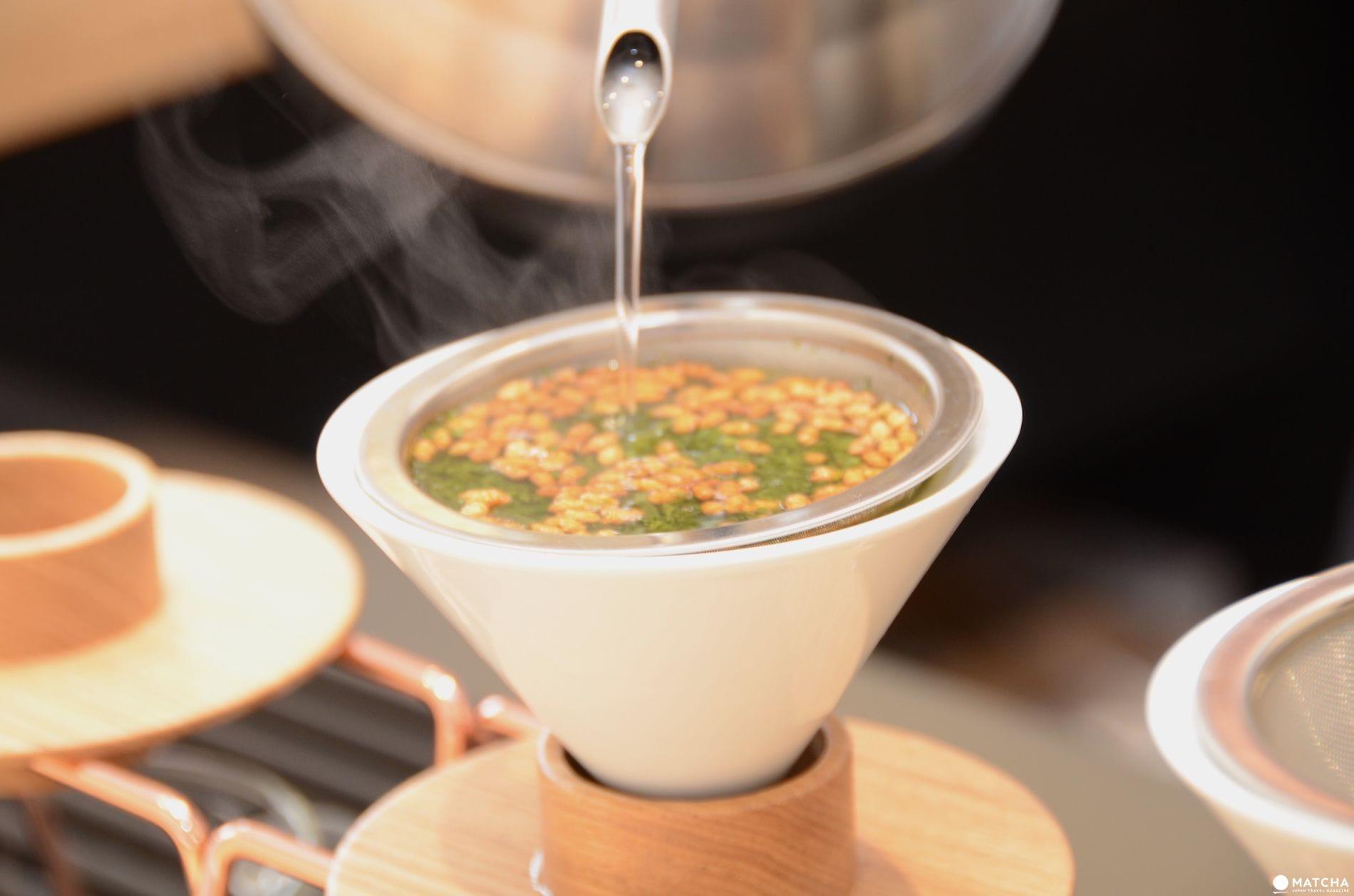在手沖日本茶的專門店「東京茶寮」享受有個性的日本茶吧!