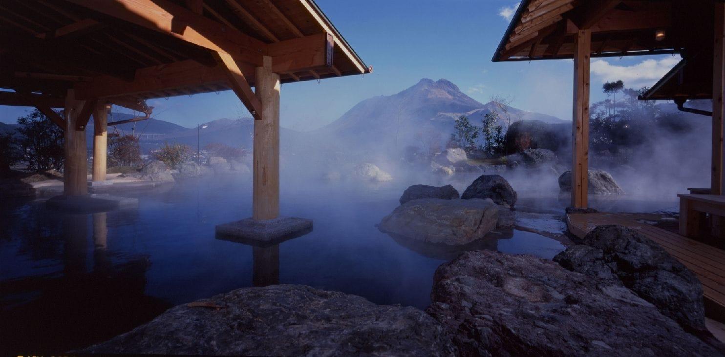 絶景露天風呂 由布院
