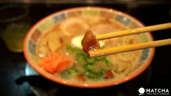 福岡久留米-大砲豚骨拉麵-想起阿嬤的好滋味
