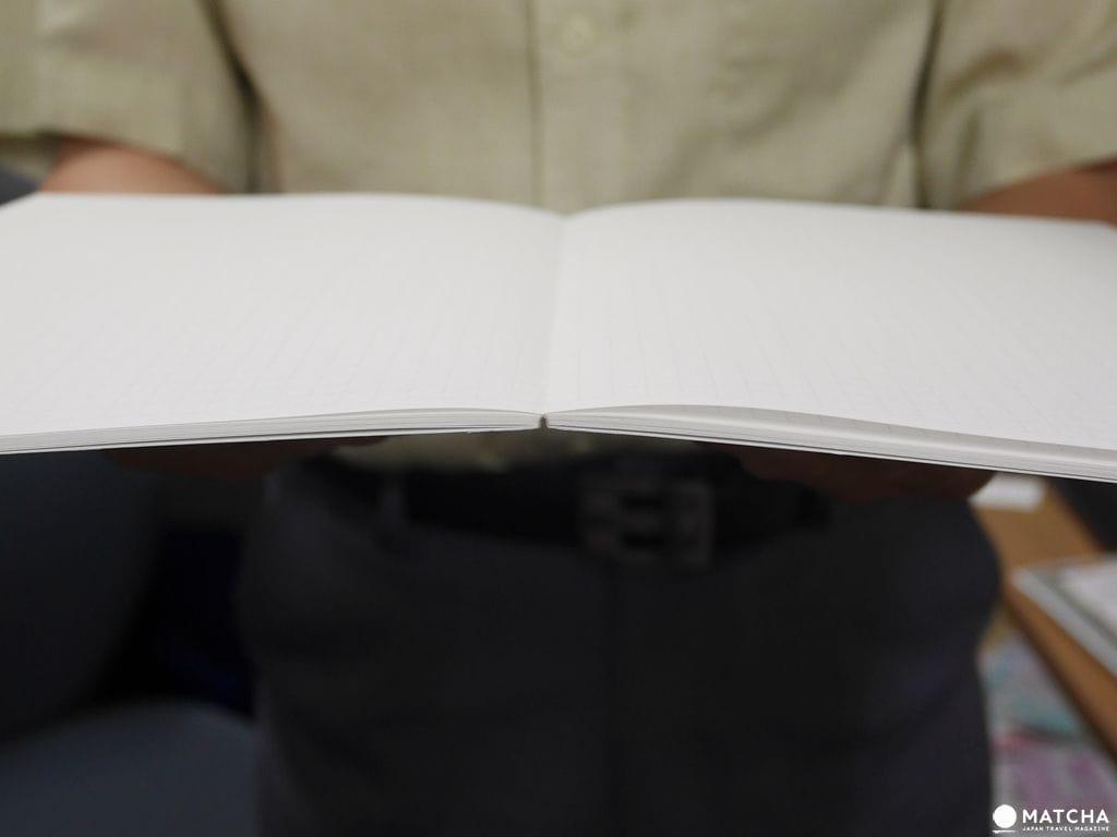 平平不亂翹 設計建築系與強迫症使用者的好福音 中村印刷所 水平筆記本