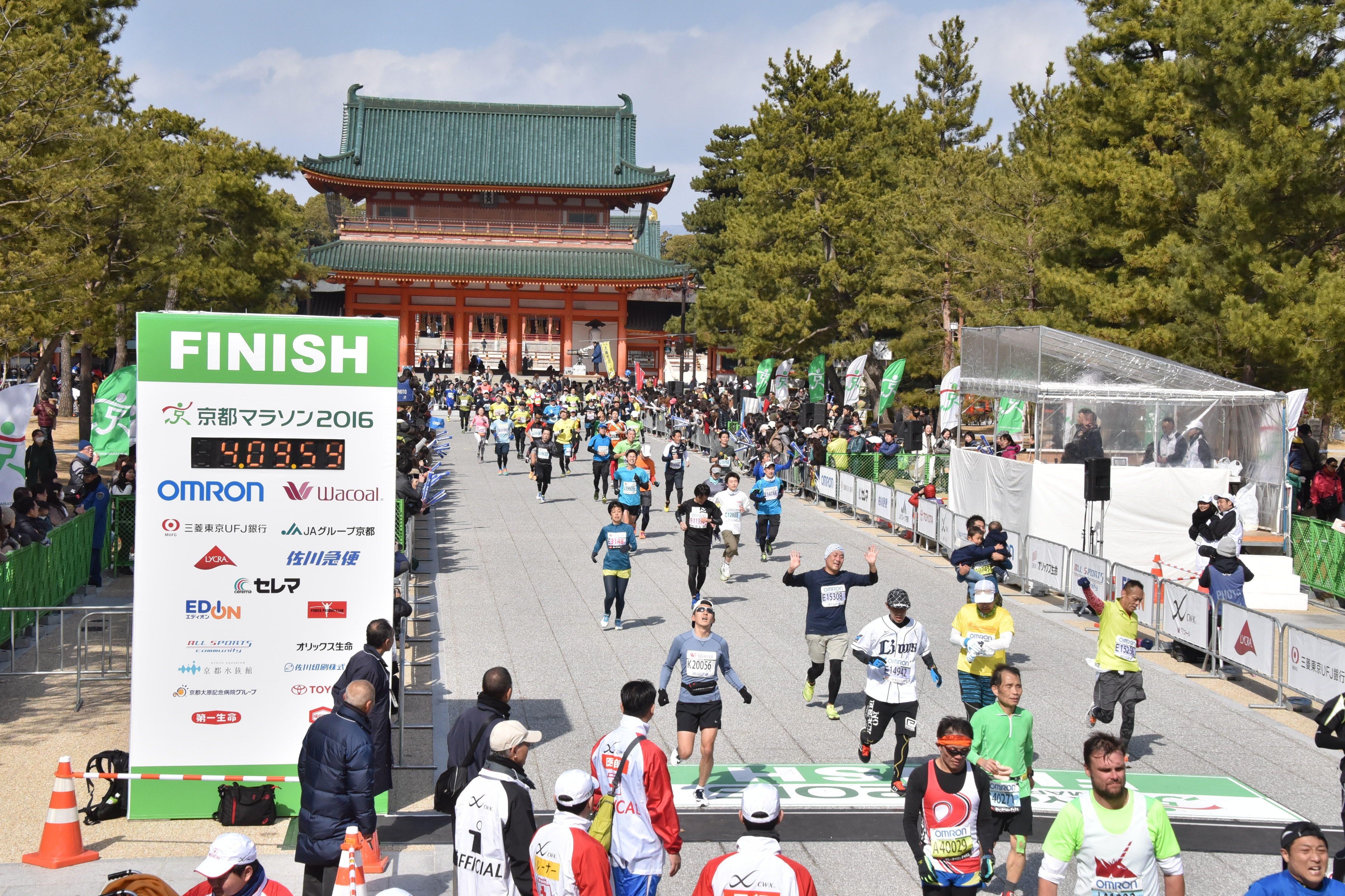 終點 京都馬拉松
