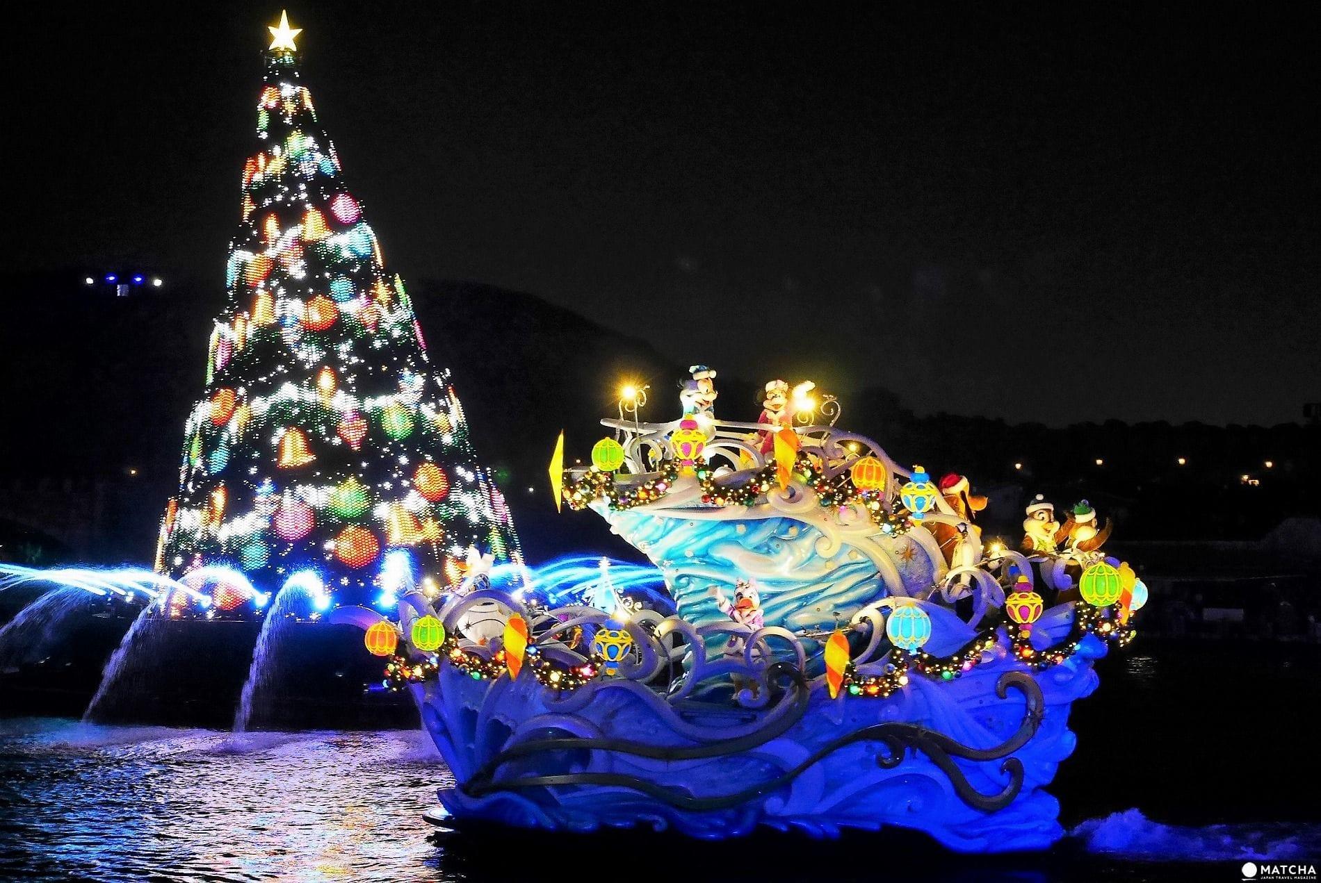 2017年!東京ディズニーシー「クリスマス・ウィッシュ」ショー | matcha