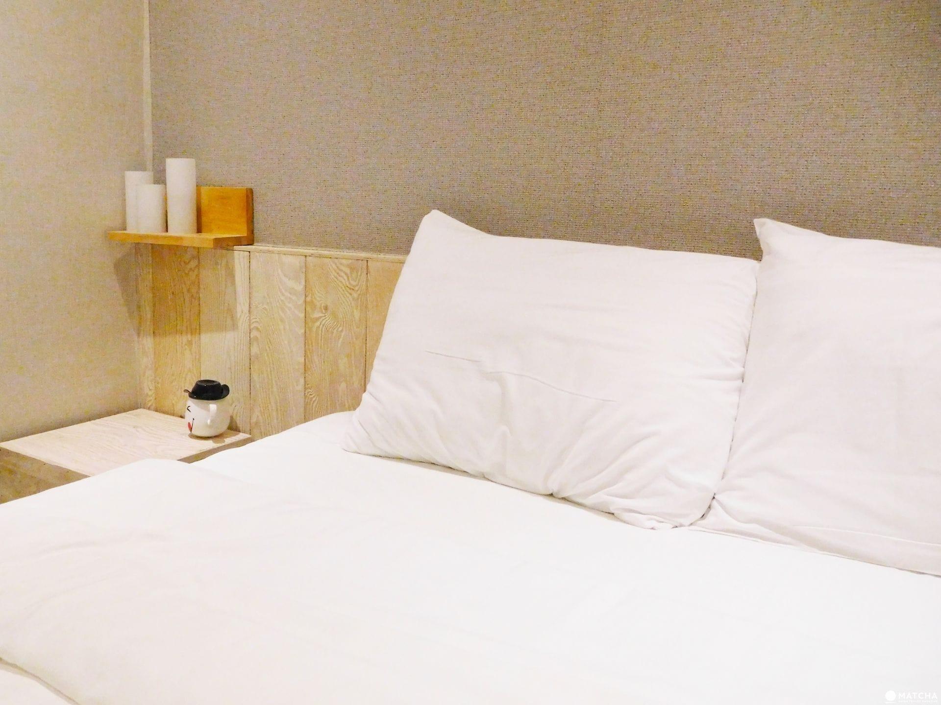 日本商務飯店6大貼心:枕頭
