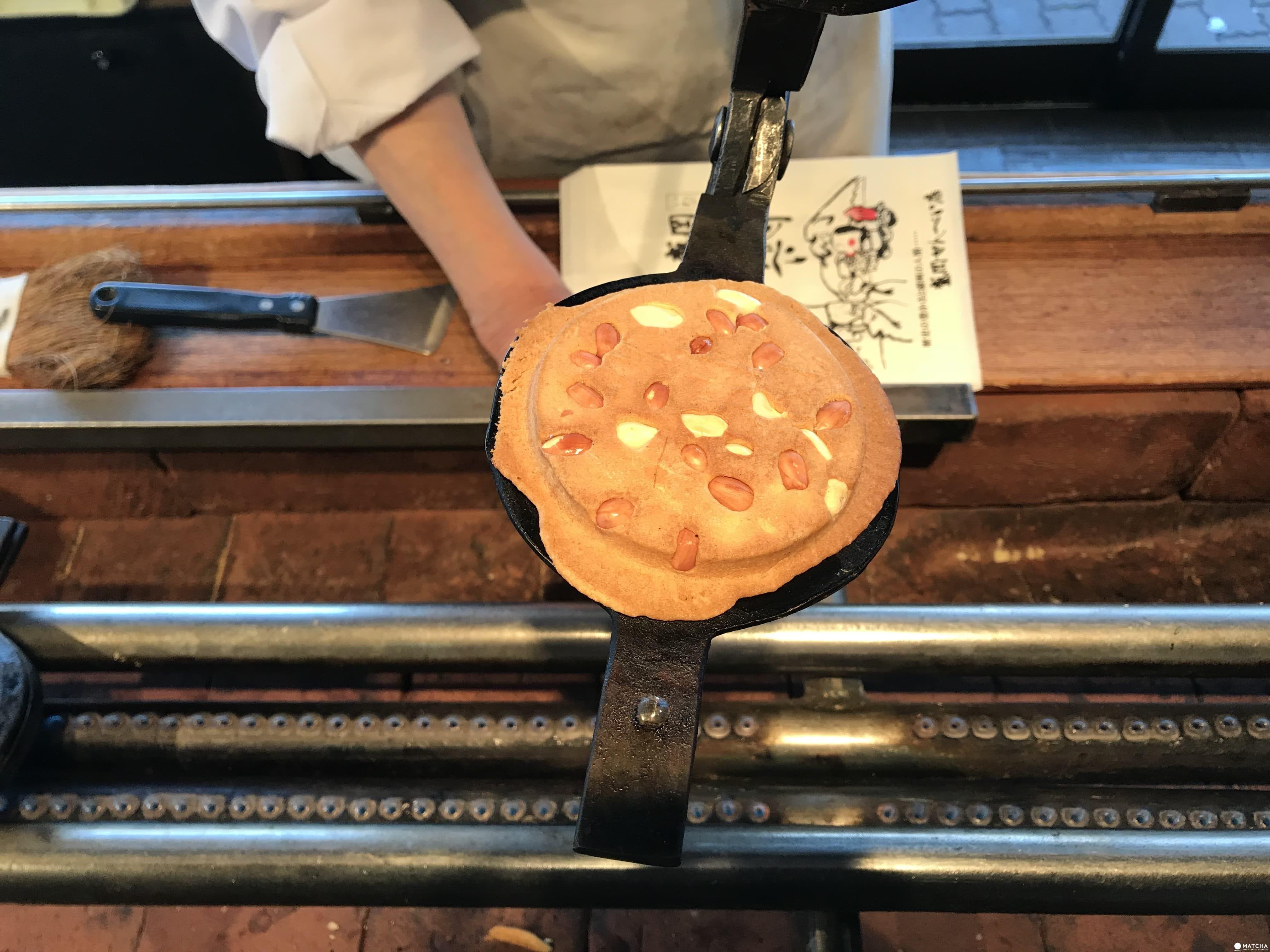 盛岡手工藝村煎餅製作成品