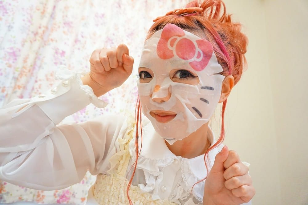Hello Kitty Face Pack Sheet Mask Have Just Become A Lot More Fun Matcha Japan Travel Web Magazine