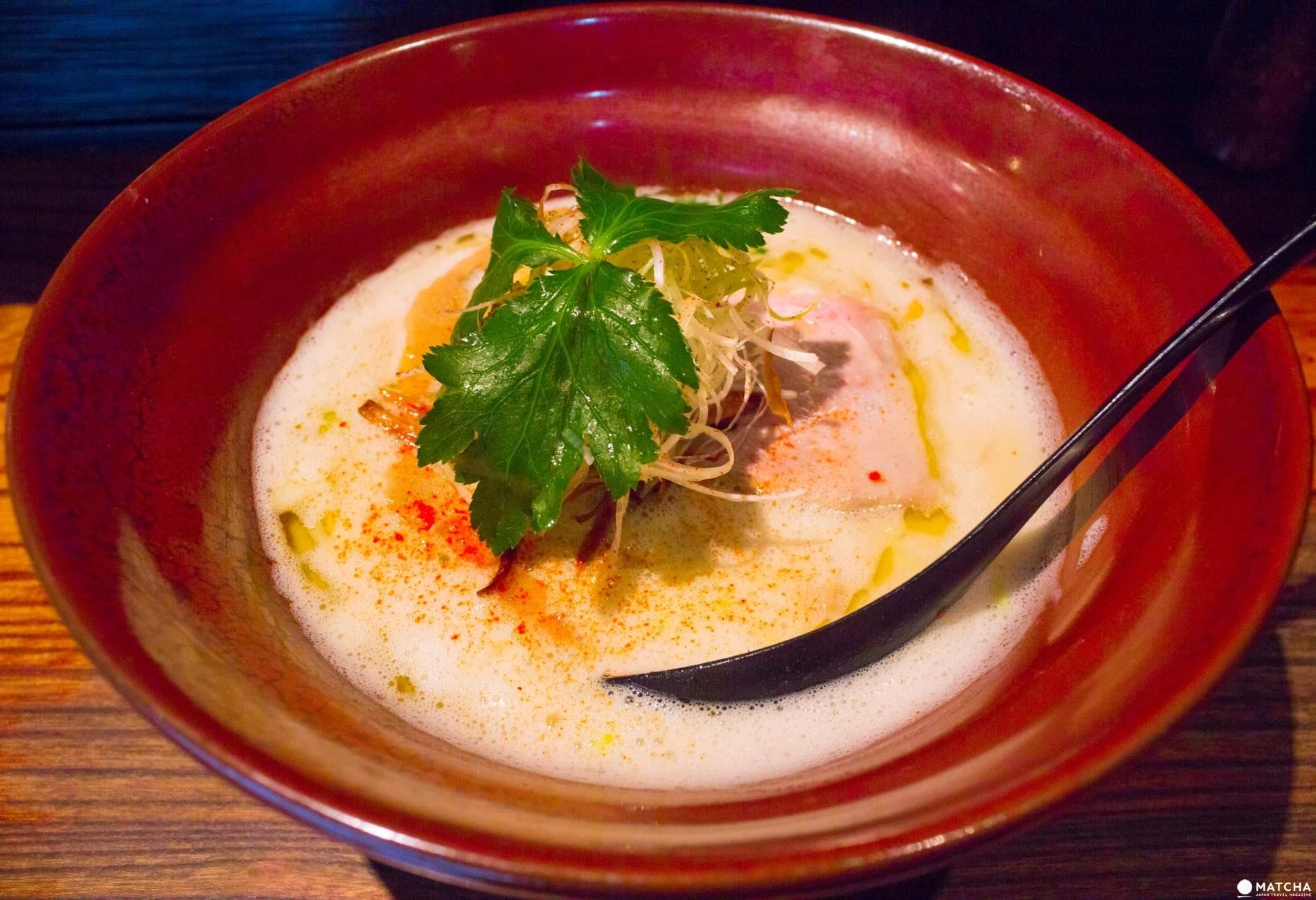 Namba Ryukishine RIZE's Chicken Simmered Shio Noodles