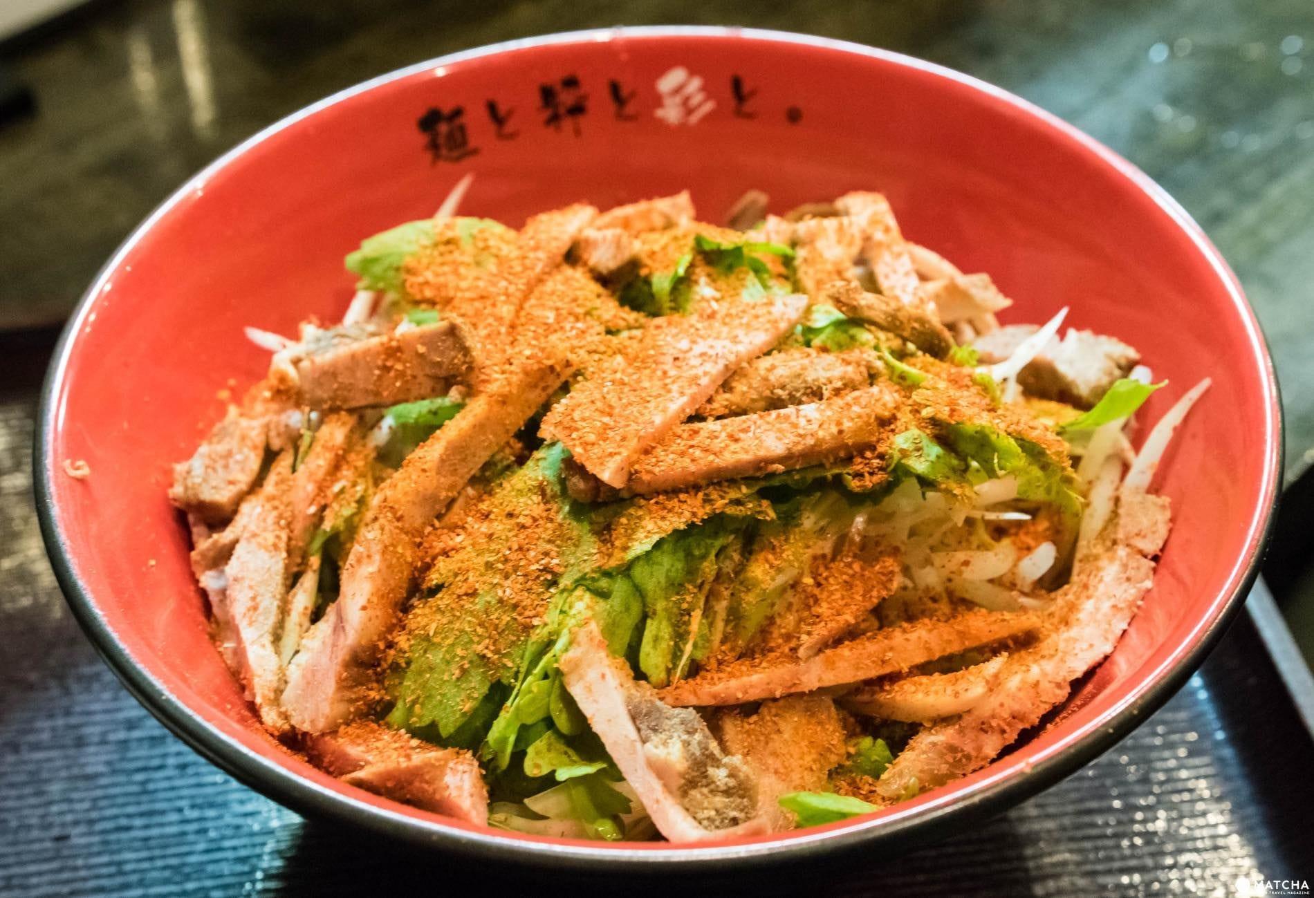 麺屋彩々の辛味噌和え麺