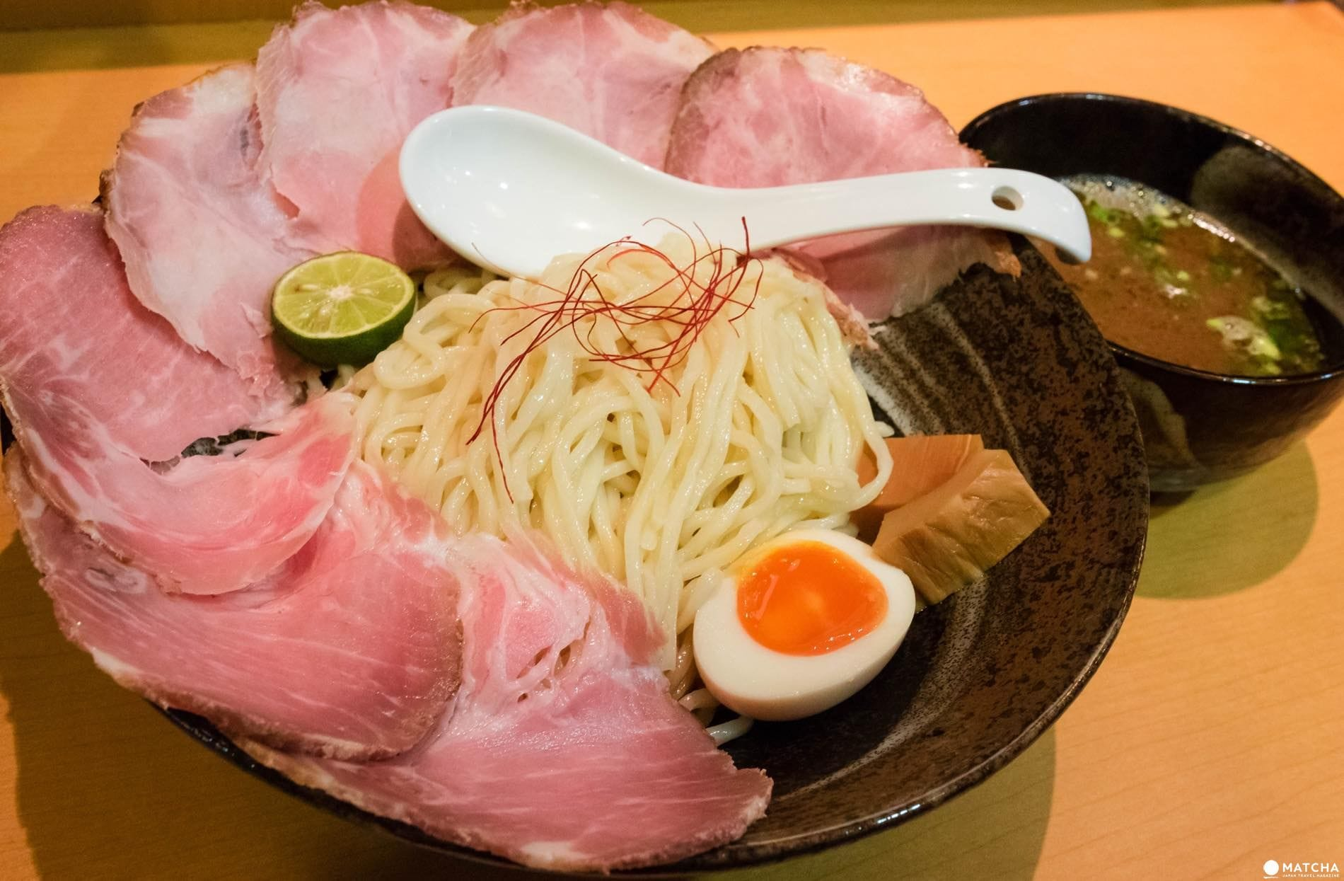 らーめん 鶴武者のちゃーしゅーつけ麺