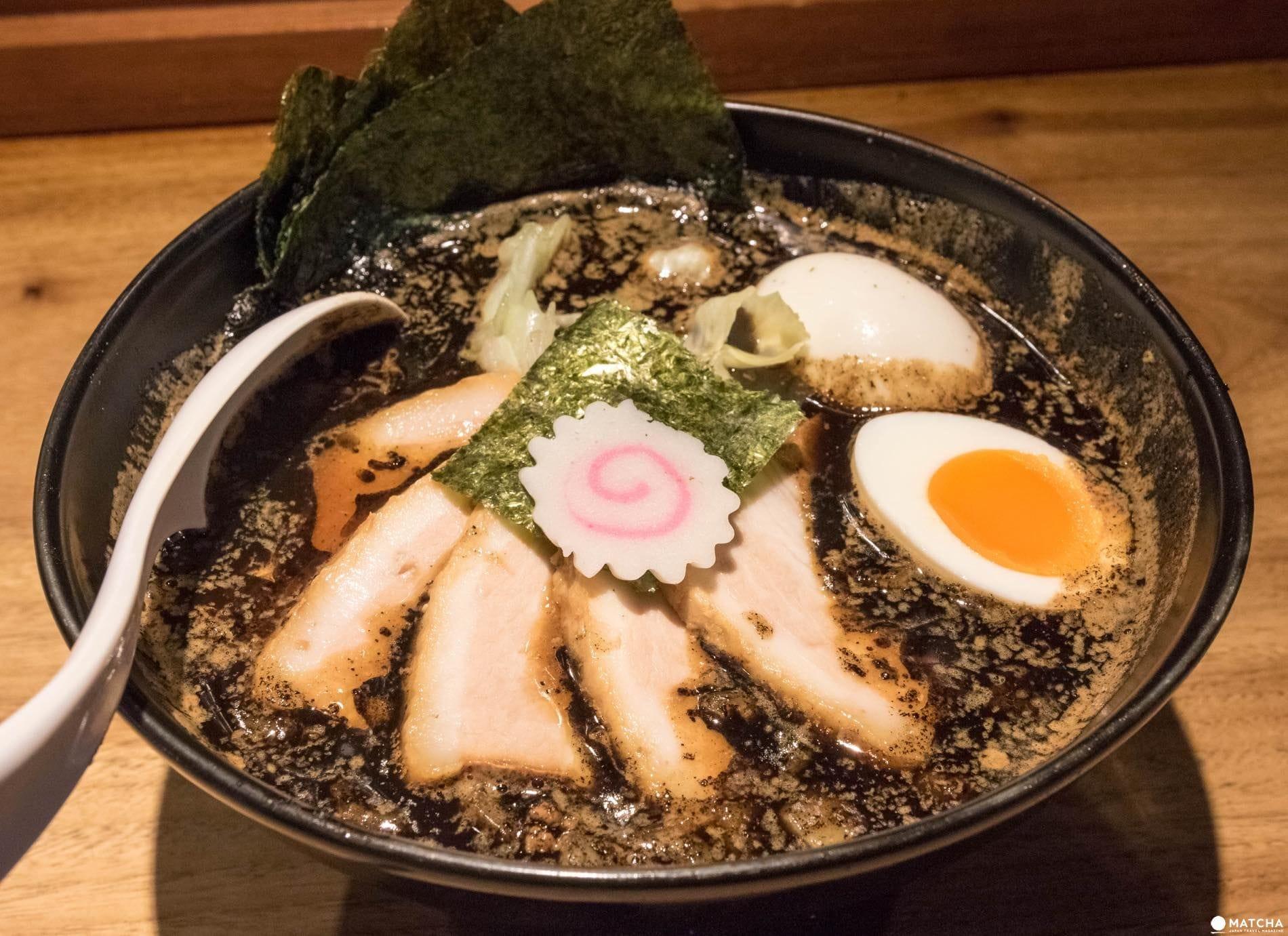 京都 五行のスペシャル焦がし味噌麺