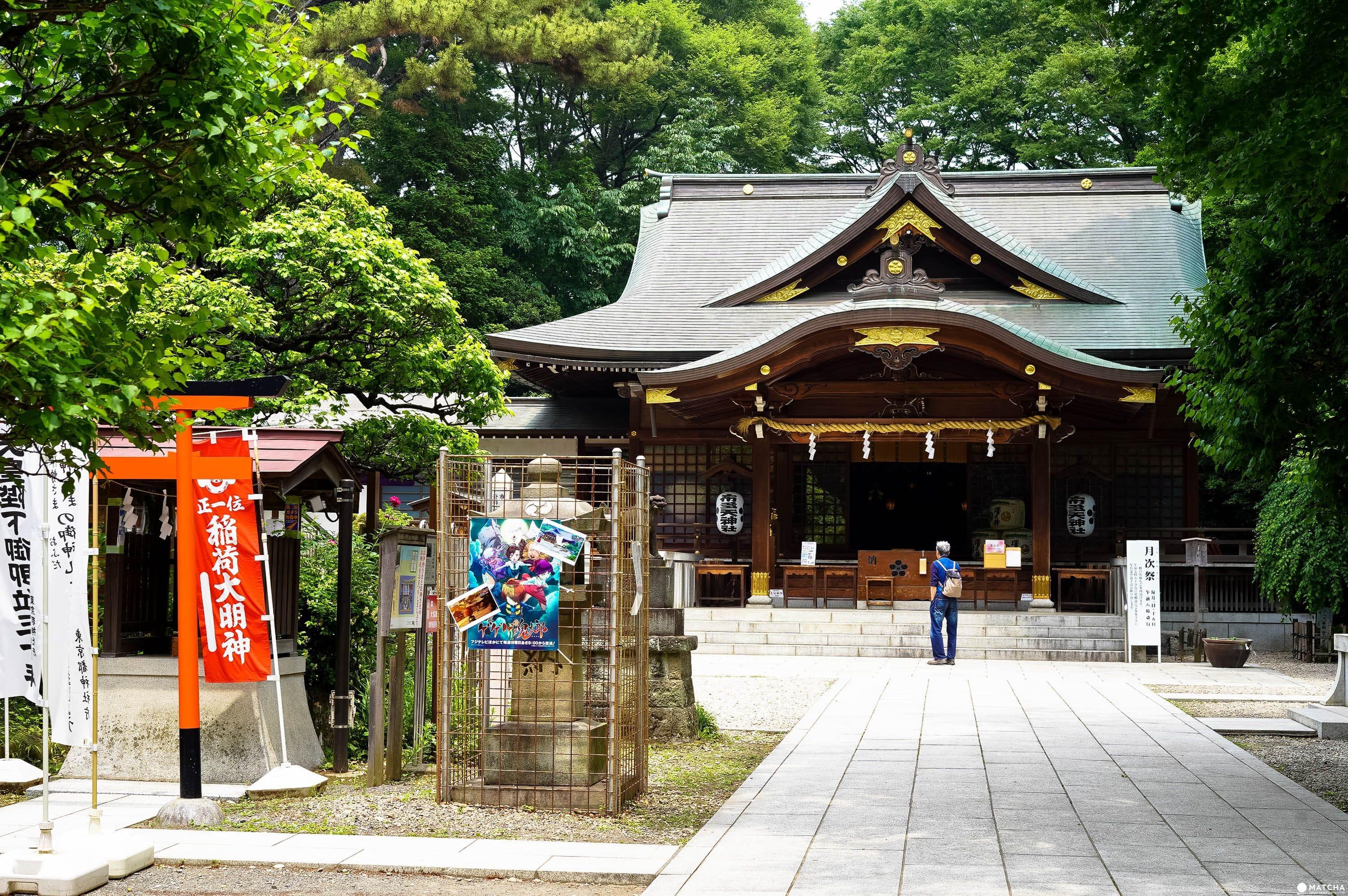 調布站:布多天神社